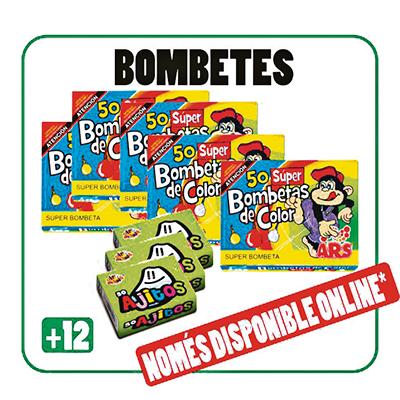 Assortit Bombetes